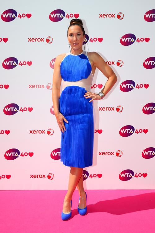 Елена Янкович на праздновании 40-летия WTA в Лондоне. Фото: Julian Finney/Getty Images