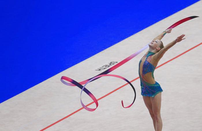 Вероника Хегрова из Чехии на Чемпионате Европы в командном зачёте. Фото: ALEXANDER KLEIN/AFP/Getty Images