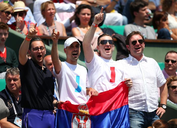 Мария Шарапова встретилась в четвертьфинале с Еленой Янукович, проведя напряжённый матч. Фото: Julian Finney/Getty Images