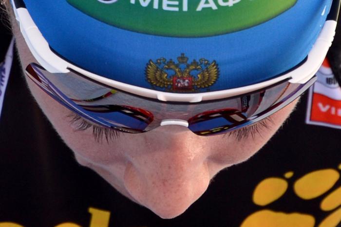 Ольга Зайцева завоевала «серебро» на Кубке мира по биатлону. Фото:  KIRILL KUDRYAVTSEV/AFP/Getty Images