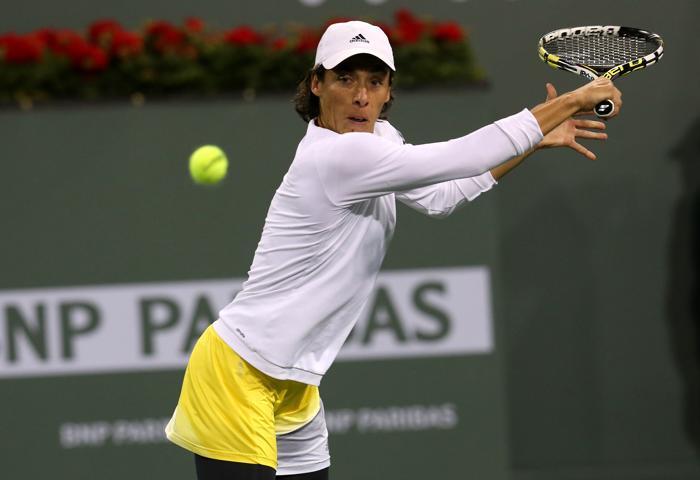 Мария Шарапова вышла в третий круг турнира Индиан-Уэллса. Фото: Stephen Dunn/Getty Images