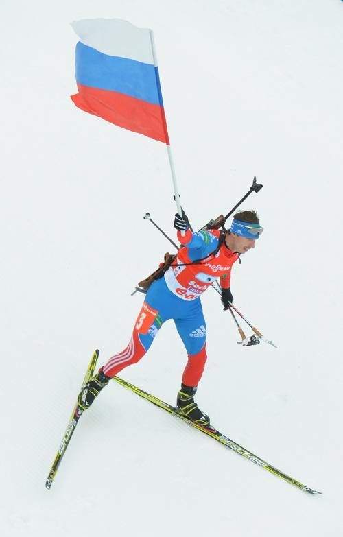 Евгений Устюгов стал вторым в личных спринтерских гонках. Shaun Botterill/Getty Images