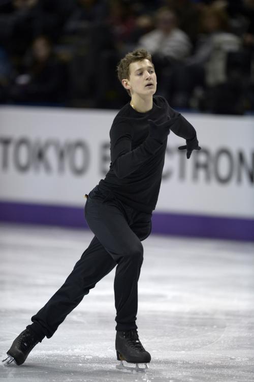Максим Ковтун на подготовке к Чемпионату мира в Канаде. Фото: BRENDAN SMIALOWSKI/AFP/Getty Images