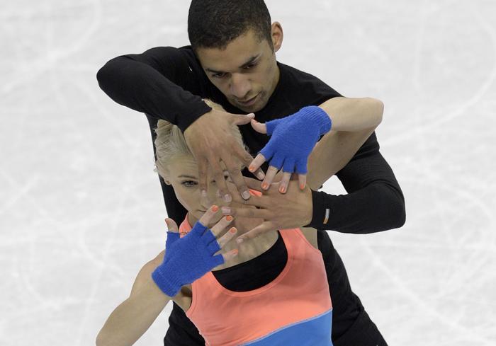 Фигуристы провели подготовку к Чемпионату мира в Канаде. Фото: BRENDAN SMIALOWSKI/AFP/Getty Images