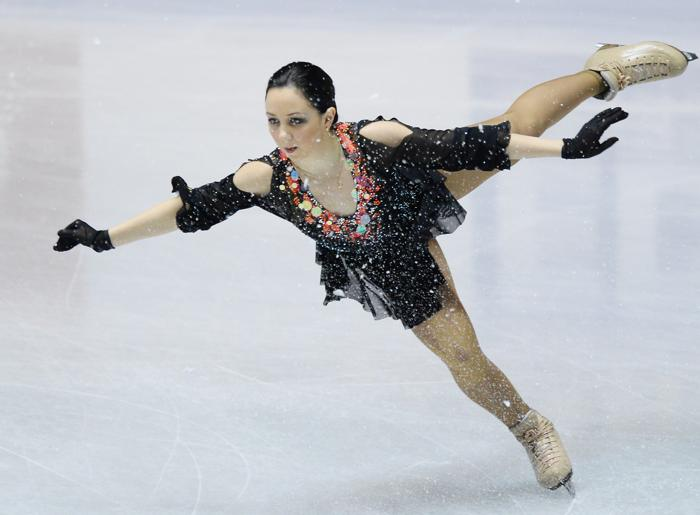 Еизавета Туктамышева на командном Кубке мира в Токио. Фото: Atsushi Tomura / Getty Images