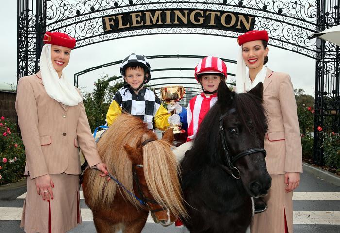 Чемпионы Кубка Мельбурна начали рекламную компанию скачек 2013 года. Фото: Scott Barbour/Getty Images for the VRC