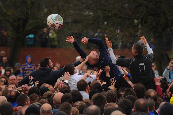 Футбол без правил в Великобритании 13 февраля 2013 года. Фото: Michael Regan/Getty Images