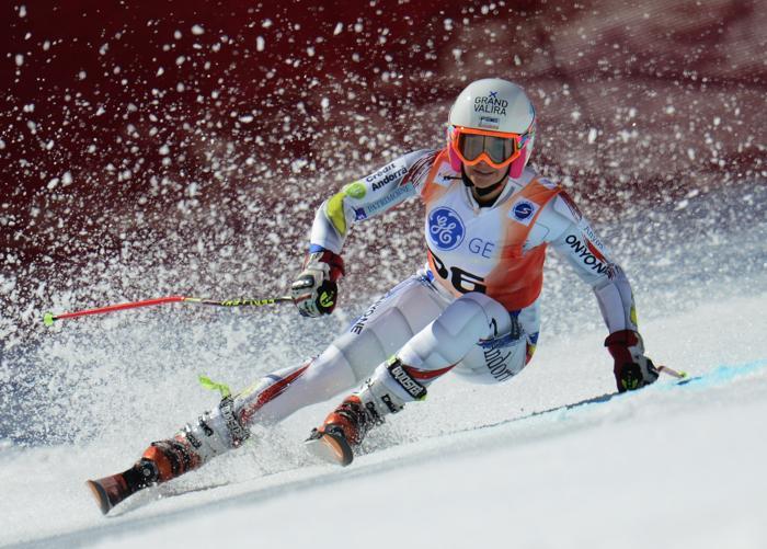 На Кубке Европы по горнолыжному спорту 14 марта 2013 года в Сочи. Фото: Clive Rose/Getty Images