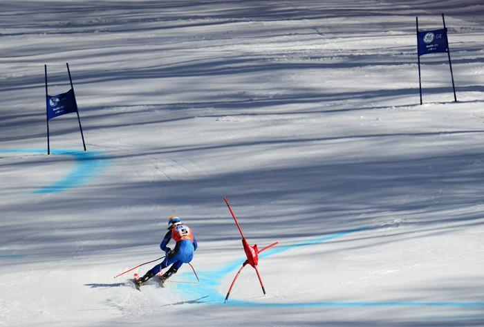На Кубке Европы по горнолыжному спорту 14 марта 2013 года в Сочи. Фото: Shaun Botterill/Getty Images