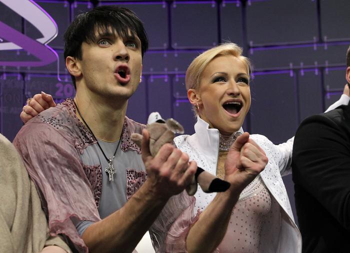 Волосожар и Траньков стали чемпионами мира. Фото: Dave Sandford/Getty Images