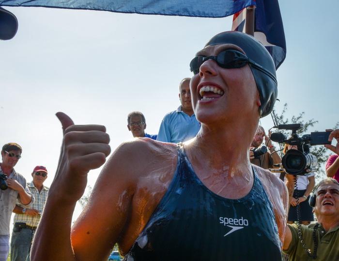 Хлои Маккардел намеревалась преодолеть самую сложную дистанцию, проплыть от Кубы до Флориды. Фото: ADALBERTO ROQUE/AFP/Getty Images