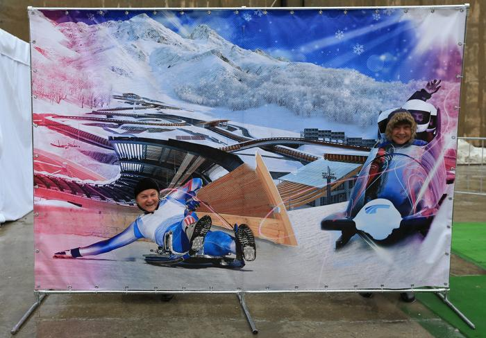 На Кубке мира по бобслею и скелетону в Сочи. Фото: Richard Heathcote/Getty Images