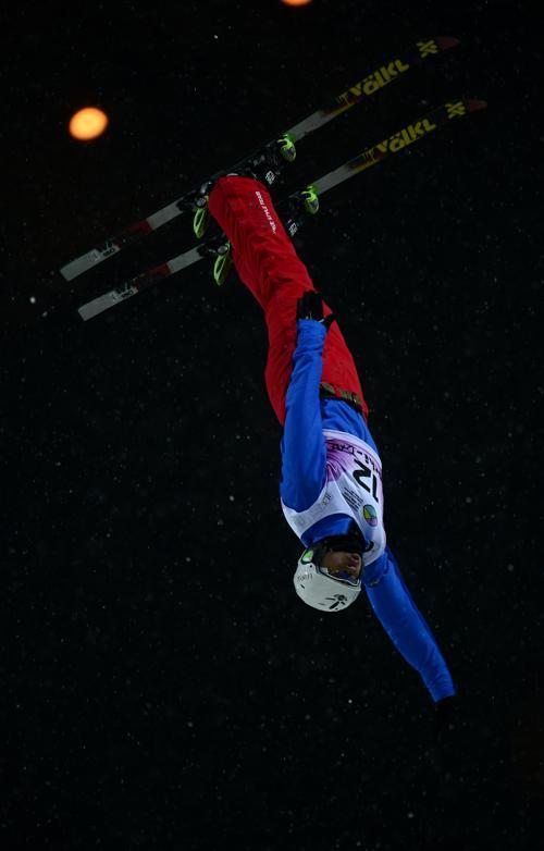 Лью Жоньгингу, 2 место среди мужчин. Фото: JAVIER SORIANO/AFP/Getty Images