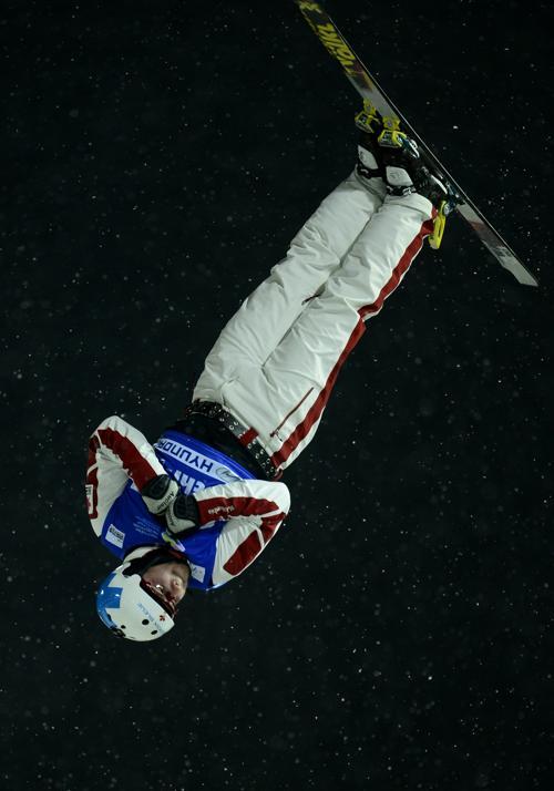 Белорус Денис Осипов, 3 место среди мужчин. Фото: JAVIER SORIANO/AFP/Getty Images