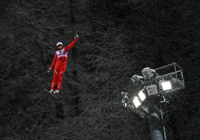 Швейцарская спортсменка Таня Шерер, 3 место среди женщин. Фото: Richard Heathcote/Getty Images