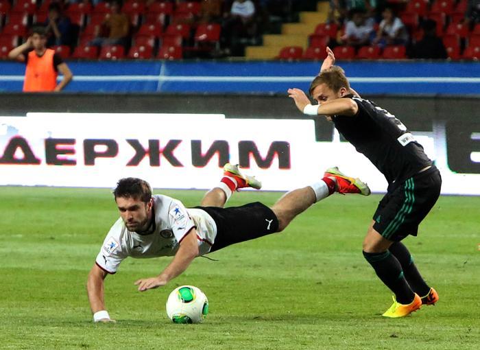 «Терек» сыграл вничью с «Амкаром» на Чемпионате России. Фото: Epsilon/Getty Images
