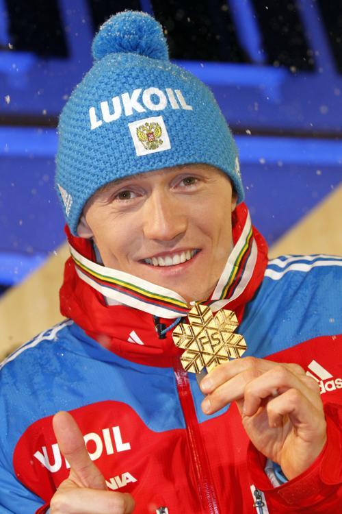 Никита Крюков завоевал первое золото ЧМ 2013. Фото: Christophe Pallot/Agence Zoom/Getty Images