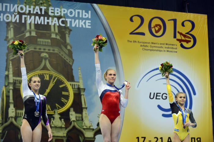 Россияне стали первыми на Чемпионате Европы по спортивной гимнастике. Фото: NATALIA KOLESNIKOVA/AFP/Getty Images