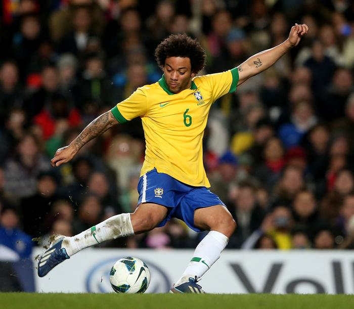 Товарищеский матч между Россией и Бразилией прошёл вничью. Фото: Scott Heavey/Getty Images