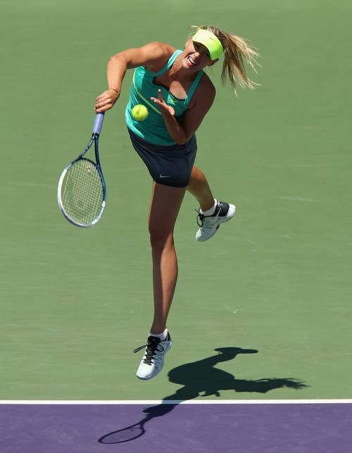 Мария Шарапова вышла в финал турнира в Майями. Фото: Clive Brunskill/Getty Images