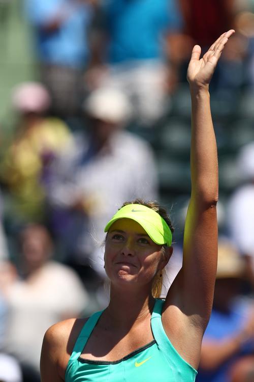 Мария Шарапова вышла в финал турнира в Майями. Фото: Al Bello/Getty Images