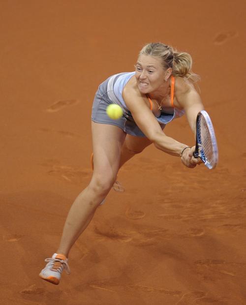 Мария Шарапова выиграла турнир в Штутгарте. Фото: THOMAS KIENZLE/AFP/Getty Images