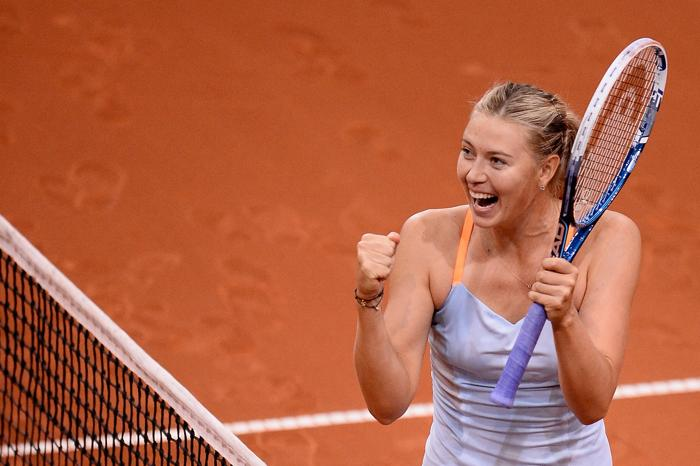 Мария Шарапова выиграла турнир в Штутгарте. Фото: Dennis Grombkowski/Bongarts/Getty Images