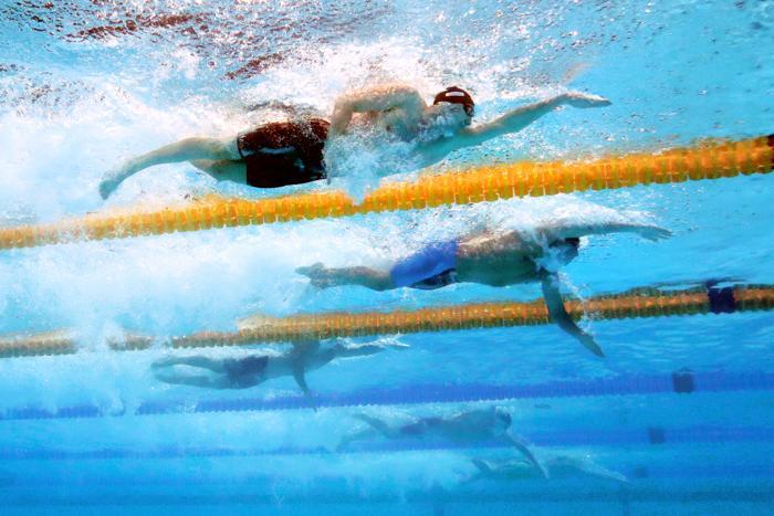 Данила Изотов взял бронзу в плавании кролем на дистанции 200 метров в 11 день Чемпионата мира по водным видам спорта в испанской Барселоне 30 июля 2013 года. Фото: Clive Rose/Getty Images