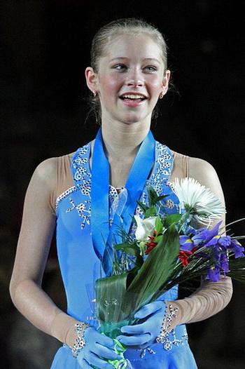 Фигуристка Юлия Липницкая. фото: wikimedia.org