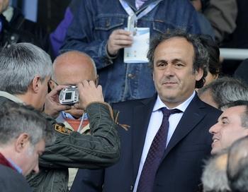 Президент УЕФА Мишель Платини. Фото: Claudio Villa/Getty Images