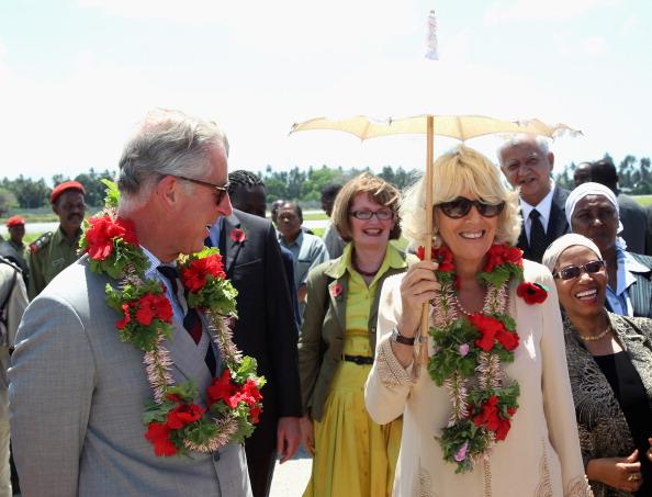 Принц Чарльз и герцогиня Корнуэлльская Камилла в  Занзибаре, Танзании. Фото: Gareth Fuller - Pool/Getty Images