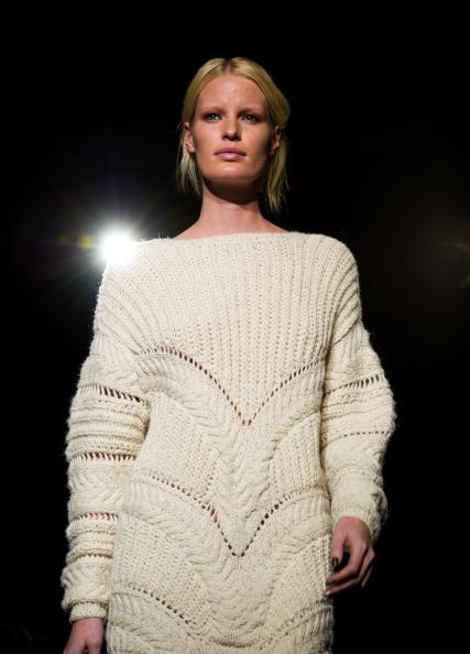 Коллекция  модной одежды от Дагмар на неделе моды  Mercedes-Benz в Стокгольме.  Фоторепортаж. Фото:  Ian Gavan / Getty Images