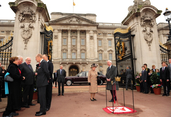 Королева Елизавета II обнародовала первый юбилейный Greenway Disc. Фоторепортаж. Фото: Leon Neal - WPA Pool/Getty Images