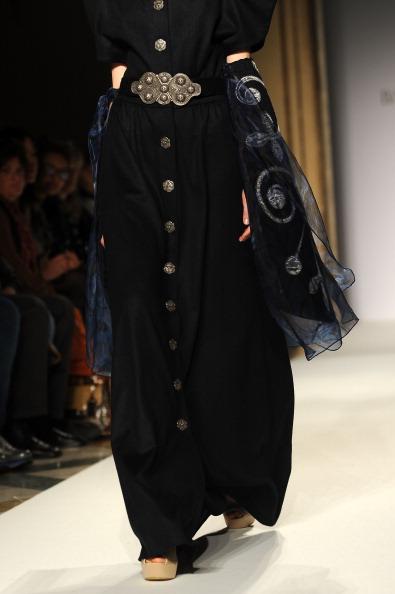 Платья в пол и юбки сезона осень-зима 2012/2013 от Basharatyan V на показе моды в Милане. Фоторепортаж. Фото: Tullio M. Puglia/Getty Images