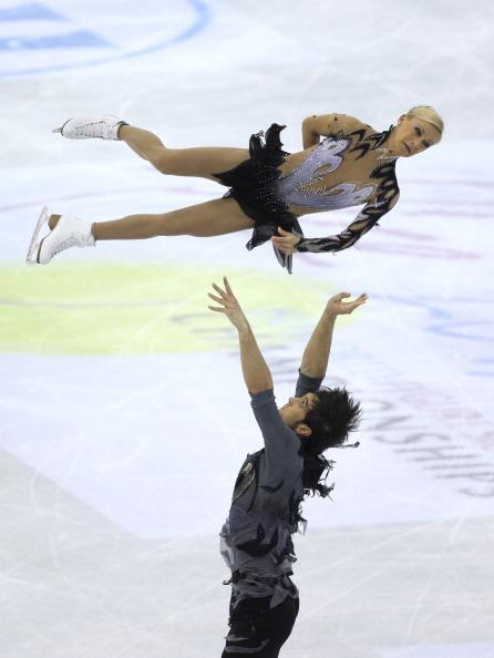 Татьяна Волосожар и Максим Траньков завоевали серебро. Фоторепортаж из Ниццы.  Фото: Scott Heavey/Getty Images