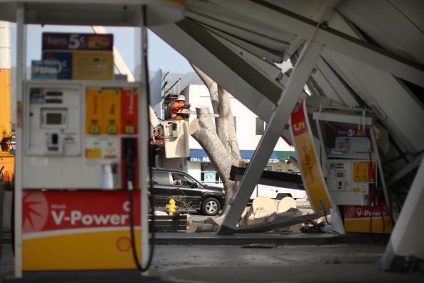 Ураган «Санта Ана» нанес серьезный ущерб Южной Калифорнии. Фоторепортаж из Пасадены. Фото: David McNew/Getty Images