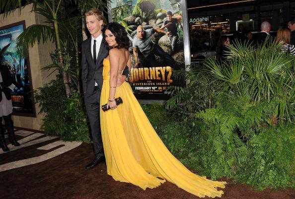 Ванесса Хадженс на Лос-Анджелесской премьере фильма «Путешествие 2: Таинственный остров» в Голливуде. Фоторепортаж. Фото: Jason Merritt/Getty Images