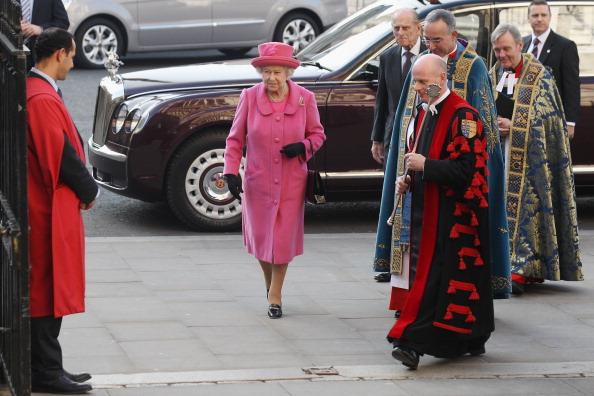 Королева Елизавета II и принц Филипп отметили День Содружества. Фоторепортаж.  Фото:  Leon Neal-WPA Pool/Getty Images