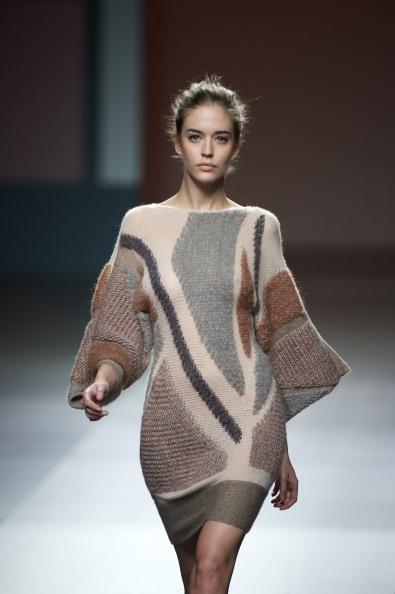 Коллекция  модной одежды от Sita Murt на неделе моды  Mercedes-Benz в Мадриде.  Фоторепортаж. Фото: Carlos Alvarez/Getty Images