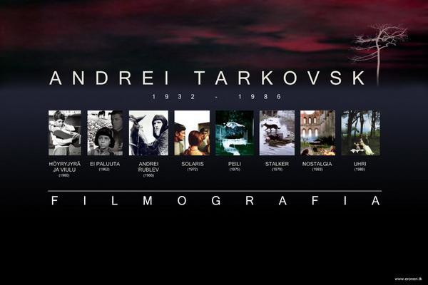 Андрей Тарковский. Фильмография. Фото с сайта mubi.com