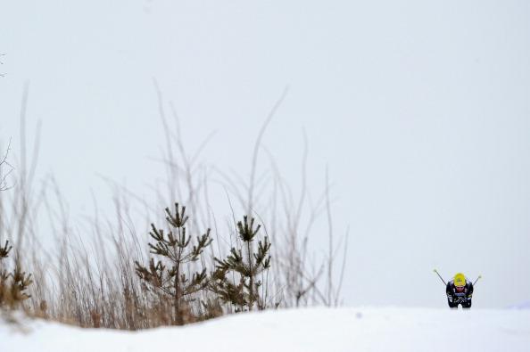 Максим Вылегжанин  завоевал золото в Кубке мира по дуатлону. Фоторепортаж из Рыбинска. Фото: NATALIA KOLESNIKOVA/AFP/Getty Images