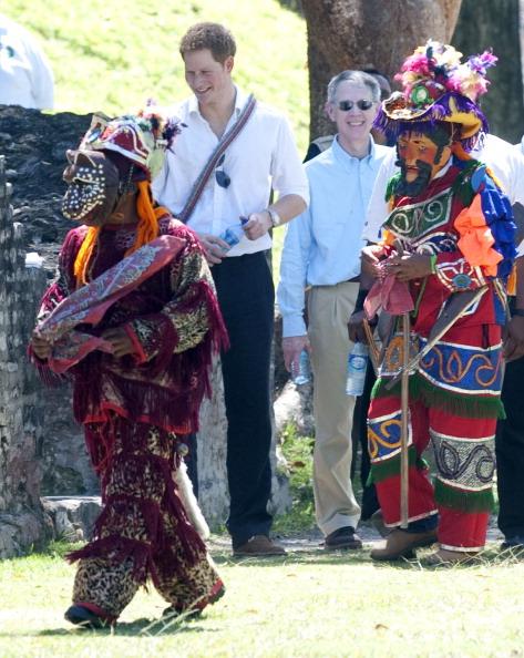 Принц Гарри посетил храм майя Xунантунич  в Белизе. Фоторепортаж. Фото: Mark Large - WPA Pool /Getty Images