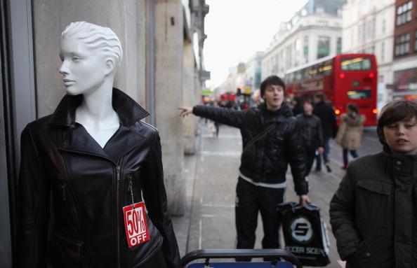 Рождественские Интернет-покупки. Фоторепортаж из Великобритании. Фото: Oli Scarff/Getty Images