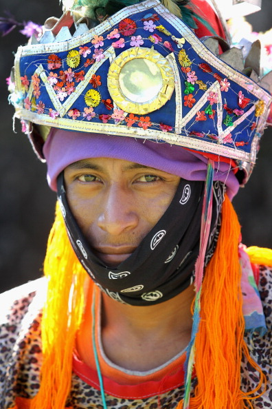 Принца Гарри  приветствовали в Белизе туземцы племени майя. Фоторепортаж. Фото: Mark Large - WPA Pool /Getty Images