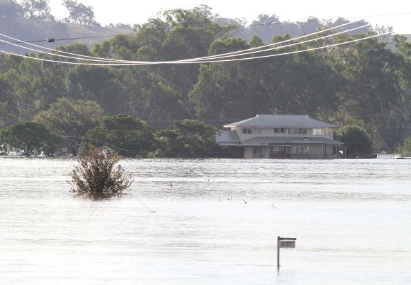 Наводнение в Австралии: в Вагга-Вагга объявлено чрезвычайное положение. Фоторепортаж. Фото: Cole Bennetts/Getty Images