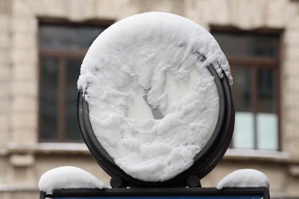 Зима сковала Италию. Фоторепортаж. Фото: Vittorio Zunino Celotto/Getty Images