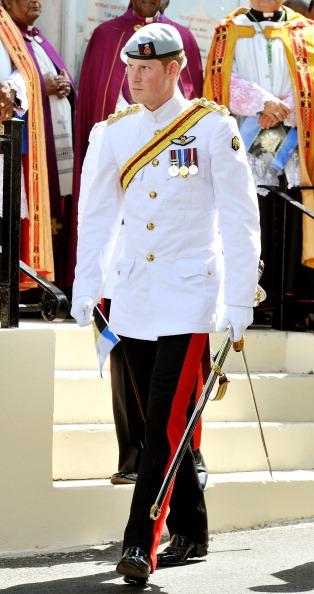 Принцу Гарри на Багамах был устроен прием в доме правительства. Фоторепортаж. Фото: Suzanne Plunkett-Pool/Getty Images