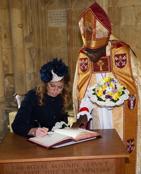 Принцесса Беатрис посетила службу в Йоркском соборе. Фоторепортаж. Фото: Arthur Edwards/WPA Pool/Getty Images