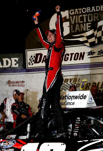 Фоторепортаж о победителях  королевского ралли Royal Purple 200. Фото:  Jeff Zelevansky/Getty Images for NASCAR