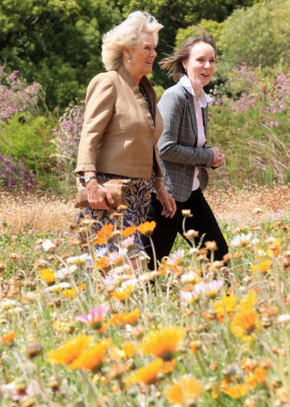 Принц Чарльз и герцогиня Корнуэлльская Камилла, в Африке, на четвертый день своего тура, посетили  сады в Кейптауне и траулер компании Harvest. Фото: Chris Jackson-Pool/Getty Images